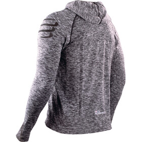 Compressport 3D Thermo Seamless Veste à capuche, grey melange